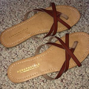 Brand new without tags sandals from Aeropostale!